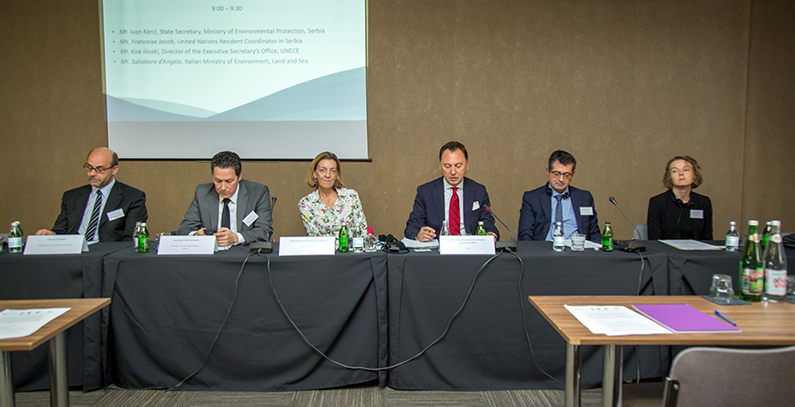 UNECE workshop presents recommendations for sustainable future of Drina River Basin