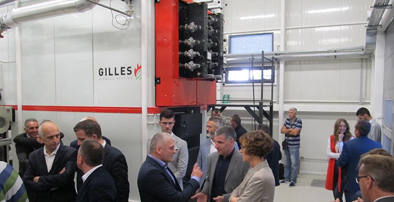 new biomass heating plant