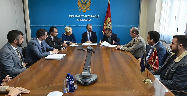 EUR 1.4 million contract signed for energy renovation of hospital in Bar, walk-in clinic in Ulcinj