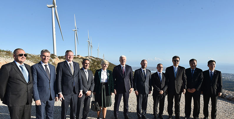 Možura wind farm, Montenegro's second largest, officially starts operation
