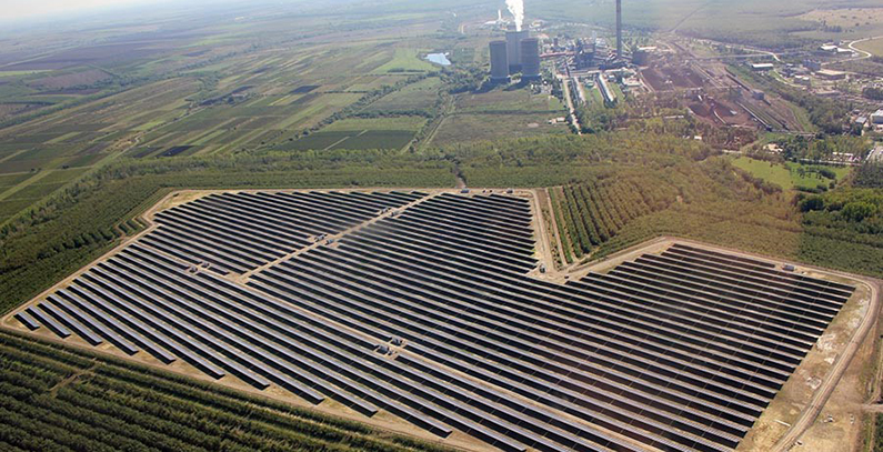 Transition away from coal by Matra Power Plant – Solar panels on ash deposits, biomass as fuel