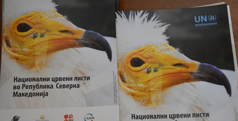First Red List of threatened species published in North Macedonia