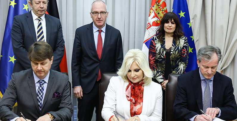 KfW provides EUR 11 million for two regional landfills in Serbian cities