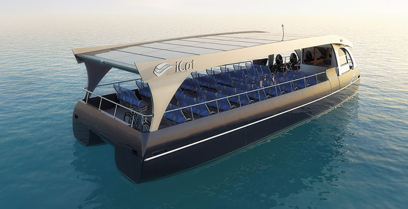 Startup iCat delivers third solar boat to Croatian national park