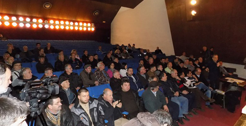 Public debate on the EIA study for Čukaru Peki mine held in Bor