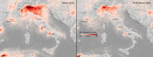 Air pollution sharply falls worldwide on COVID-19 lockdowns