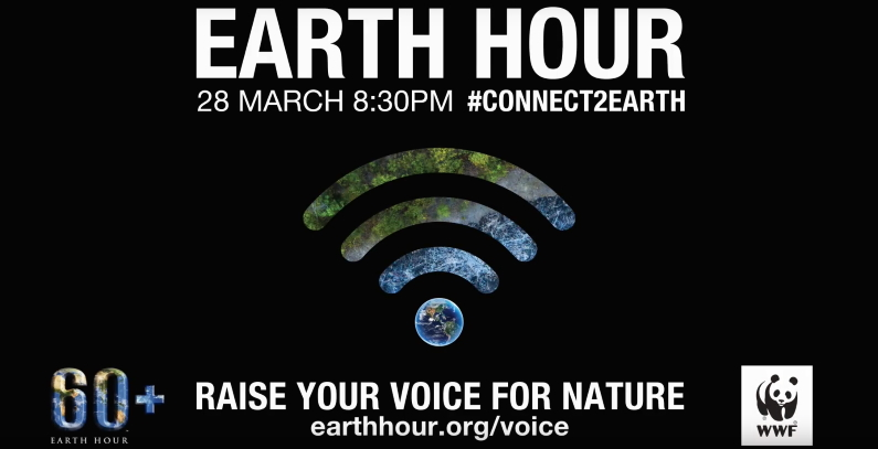 Earth Hour 2020 – Turn lights off for our planet on March 28 at 20:30