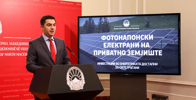 Contracts signed for solar power plants of 21 MW in N. Macedonia