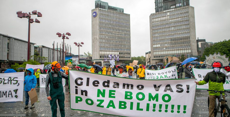 Slovenian government is taking rights from environmental NGOs