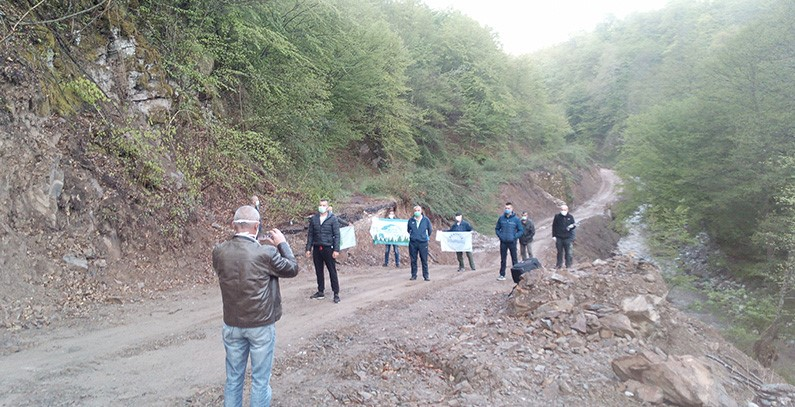 Locals block construction of two small hydropower plants on Bjelava river in BiH