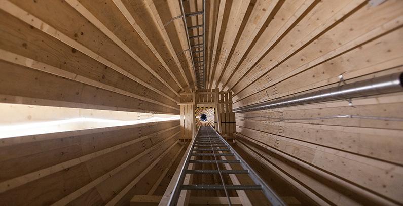 Sweden installs tallest wooden wind power tower in Europe