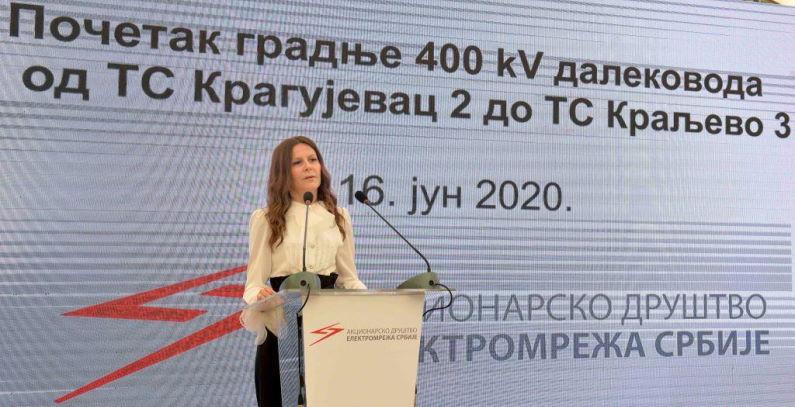 Works begin on EUR 13.5 million Kragujevac-Kraljevo transmission line