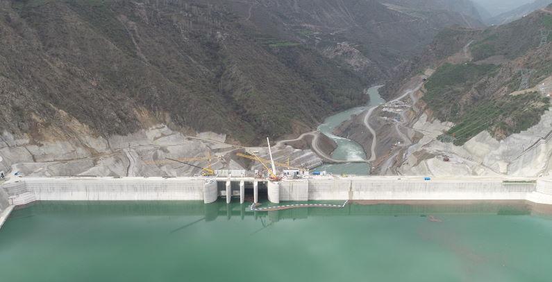 Limak turbine 420 MW Cetin hydropower Turkey