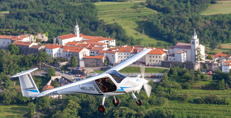 Pipistrel type certificate electric airplane EASA