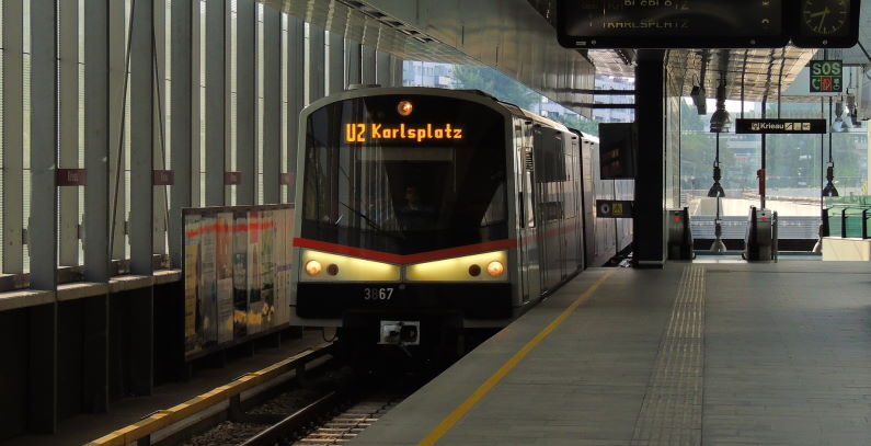 Vienna powers subway station brake energy converter