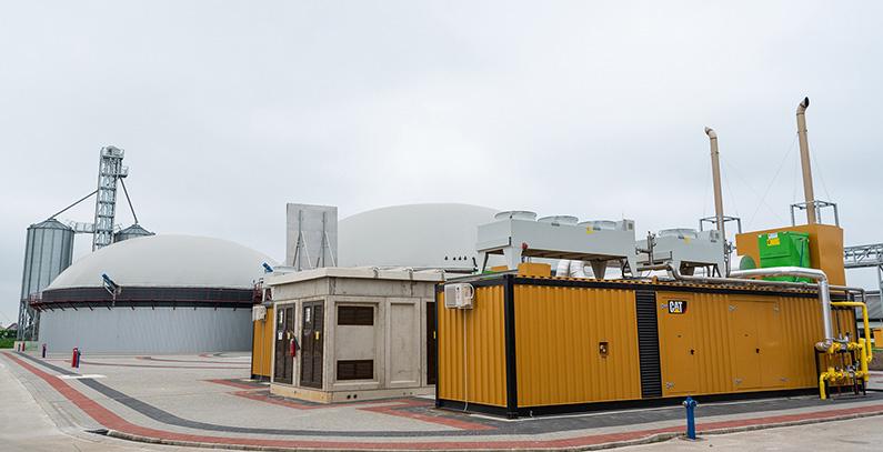 Vinex Etil inaugurates 2.2 MW biogas CHP plant near Zrenjanin