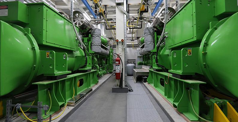 Novi Sad's public heating utility unveils another cogeneration facility