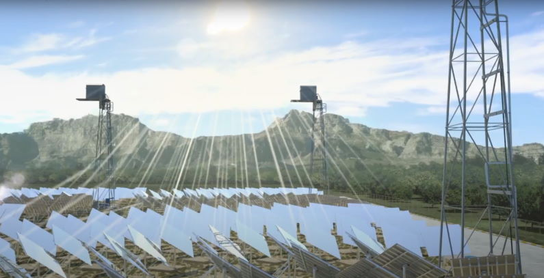 Cyprus 50 MW concentrated solar power plant