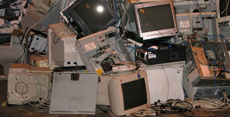 E-waste is mostly landfilled, harming environment instead of being recycled