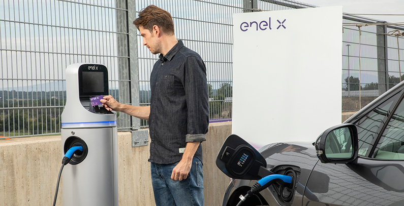 Enel-X-charging-points-electric-vehicles-Bucharest