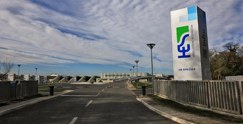 Slovenia hydropower plant infrastructure