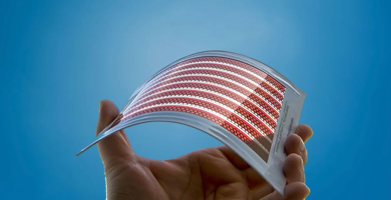 Nanotechnology brings flexible, printed solar power panels