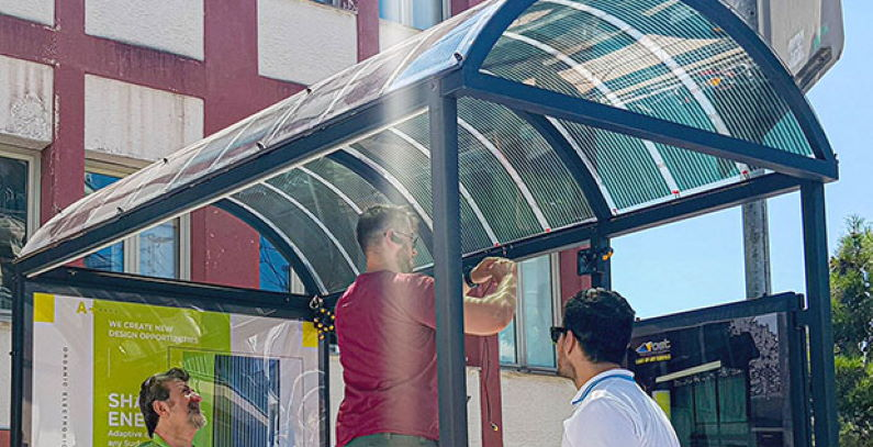 Nanotechnology flexible, printed solar panels