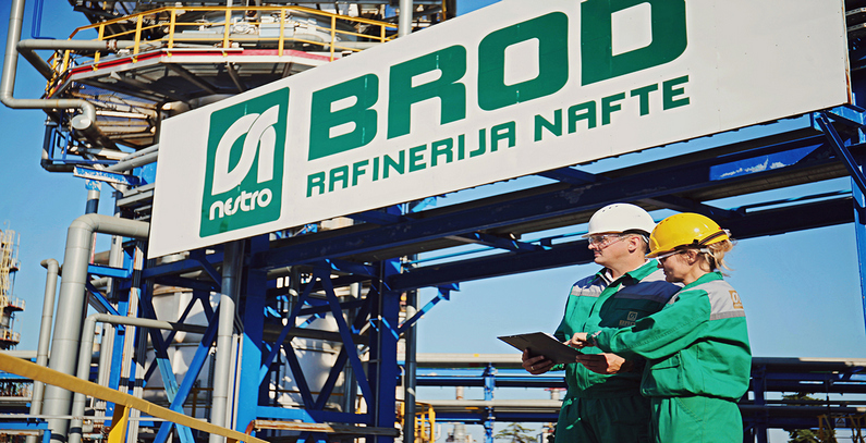Four solar power plants to be built at Russian-owned Brod oil refinery