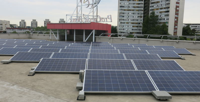 Solar power affordable firms, households