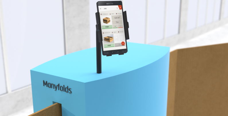 Manyfolds packaging protects items saves space in shipping