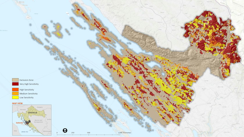 Location spatial planning accelerate renewable transition Southeast Europe