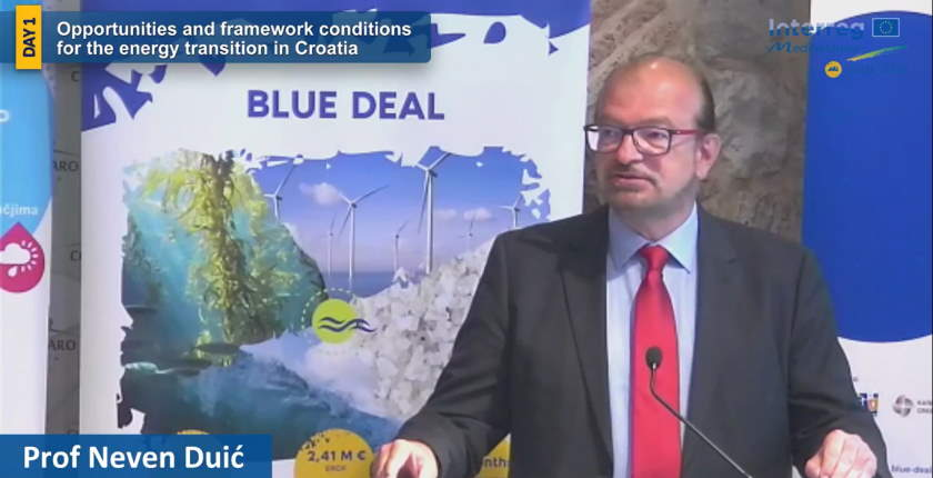 Croatia could get 20 percent of its energy from the Adriatic Sea Neven Duic