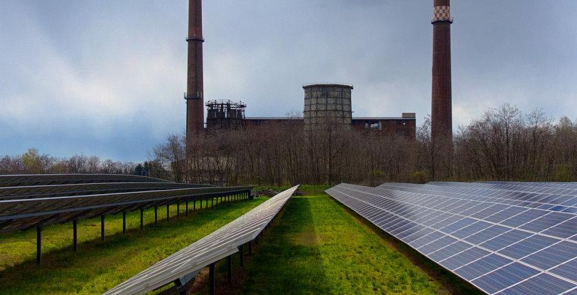 EPBiH solar power coal mines landfills closes