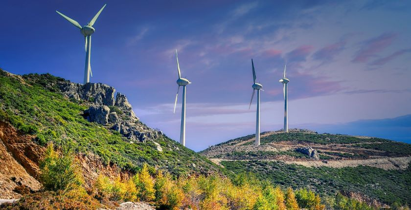 First part Bajgora wind power plant trial