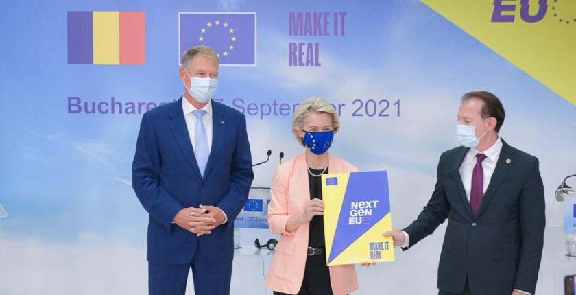 Romania EUR 3 9 billion EU recovery funds zero carbon railway