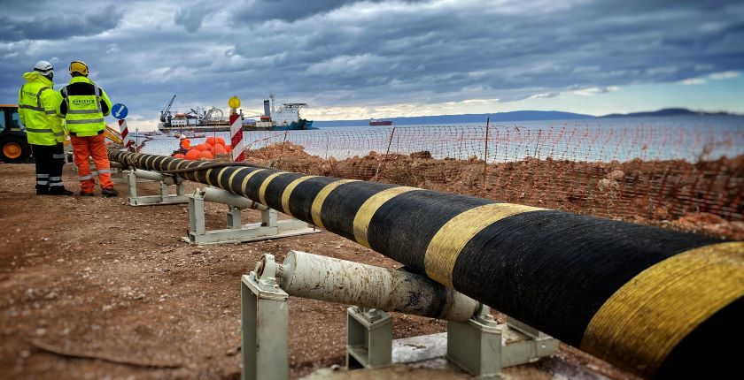 undersea power cables connect Europe Africa